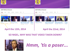 Why was this video removed, UKIP?