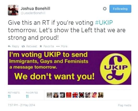 vote ukip josh
